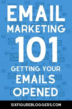 Email subject line tips to increase your open rates. Email marketing 101 guide to getting your emails opened. #sixfigurebloggers #emailmarketing #email #marketing #blogging