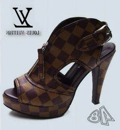 Louis Vuitton. for these i would wear heels!