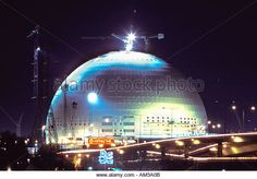 SWEDEN STOCKHOLM GLOBEN ARENA SPORT AND ENTERTAINMENT CENTER  - Stock Image