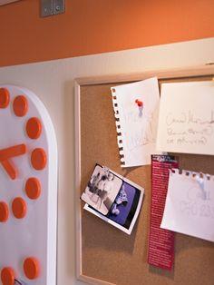 O intemporal quadro de cortiça é um óptimo ajudante de memória (e um apontamento à decoração, também).