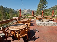 The only thing better than the food at Six Peaks Grille is the view.