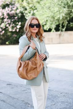 Start Transitioning Your Workwear With This Fall Inspired Blazer - Oh What A Sight To See Full Look, That Look, Summer Work Wear, Autumn Summer, Fall, New Wardrobe, Autumn Inspiration, Work Pants