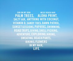 We heart the sun.. there's lots to love about the beach. http://blog.swell.com/SWELLivin-Love Beach quotes