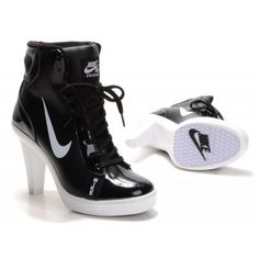 timeless design d849d 9c760 Dunk High Heels High Shoes-Cheap Womens Nike Dunk High Heels High Shoes  BlackWhite High Shoes For Sale from official Nike Shop.