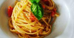 Linguina al pomodoro fresco - pasta al pomodoro