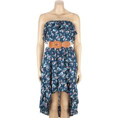 $19.97 Full Tilt Belted Hi Low Tube Dress- Tillys: SALE!!
