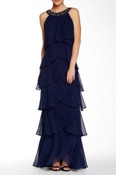 SL Fashions Sleeveless Tulip Maxi Dress  Sponsored by Nordstrom Rack.