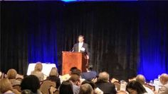 @kpmgus' Jason Harris, Partner, addresses the crowd at the 19th Annual Houston Insights Summit. #KPMGInsights