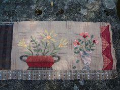 BusyBeeFree: Yoko Saito Flower bouquet quilt 2 ....6 blocks finished - block 5