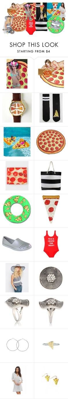 Pizza party Patty by lerp on Polyvore featuring AX Paris, Therapy, Skechers, Rock 'N Rose, ASOS, Buckle-Down and Big Mouth