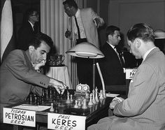 petrosian-and-keres-in-the-opening-round-1-of-the-1963-piatigorsky-cup