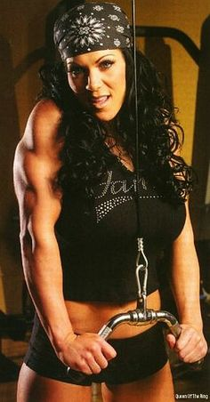 Joanie Laurer aka former WWE Diva Chyna. Only real female wrestler to face both guys and girls Wrestling Superstars, Wrestling Divas, Women's Wrestling, Female Wrestlers, Wwe Wrestlers, Wwe Total Divas, Wwe Girls, Wwe Tna, Wwe Womens