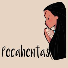 """And a #Pocahontas for the evening. #Disney #doodle #drawing #girlsinanimation"""