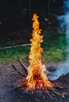 What a great bonfire!  Where's the hotdogs and marshmallows? May Days, Beltane, Go Camping, Camping Style, Camping Ideas, Bushcraft, The Great Outdoors, Warm And Cozy, Summer Fun