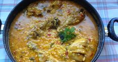 blog de elia Aroz Con Pollo, Spanish Cuisine, Mexican Food Recipes, Ethnic Recipes, Cheeseburger Chowder, Risotto, Curry, Easy Meals, Soup