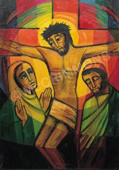 12. Jesus speaks to his mother - The Footsteps of Christ by The Benedictine…