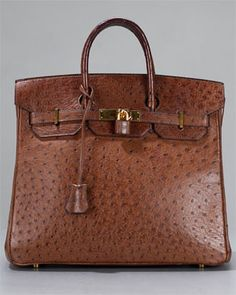 if anyone has an extra 20grand laying around... I would love a Hermes 32 cm Brown Ostrich Birkin Bag :)