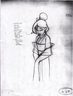 Mulan ✤ || CHARACTER DESIGN REFERENCES | Find more at https://www.facebook.com/CharacterDesignReferences if you're looking for: #line #art #character #design #model #sheet #illustration #expressions #best #concept #animation #drawing #archive #library #reference #anatomy #traditional #draw #development #artist #pose #settei #gestures #how #to #tutorial #conceptart #modelsheet #cartoon #female #lady #woman #girl || ✤