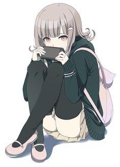 Manga Girl, Chica Anime Manga, Kawaii Anime Girl, Anime Art Girl, Danganronpa Characters, Anime Characters, Nanami Chiaki, Estilo Anime, Another Anime