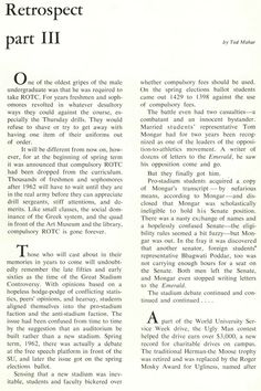 Pt. 12 of review of the 1961-62 school year at Oregon. From the 1962 Oregana (University of Oregon yearbook). www.CampusAttic.com