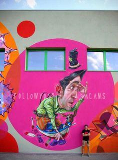 Urban artist Macs in Italy |  #streetart jd
