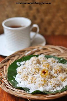 It is always fun to eat klepon. Just remember to close your mouth tightly, and feel the sweet palm sugar burst inside it....       Ingredie...
