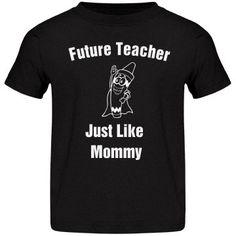 Future teacher | Personalized toddlers tee shirt. #teacher #teachermoms