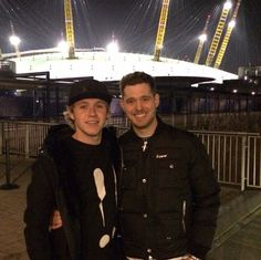 Niall and Michael Buble. Two men with amazing voices. Two me. Who I listen to when I can't sleep ❤️