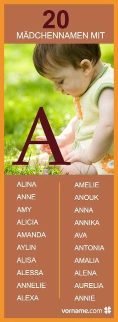 Du bist auf der Suche nach einem Vornamen mit A? Wir haben die schönsten Namen und ihre Bedeutung für Dich zusammengestellt.