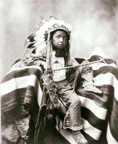 Joseph Bird Head. Lakota. 1899. Photo by Heyn Photo.