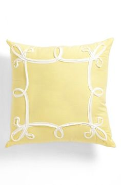 Free shipping and returns on Dena Home 'Sunbeam' Pillow at Nordstrom.com. Brighten any room with a sunny square pillow featuring a whimsical, white-ribboned motif.