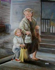 "~ ""Just Grandma and Me"" ~ 