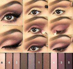 Makeup con la palette