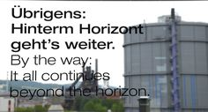 Botschaft Beyond The Horizon, Multi Story Building, Linz