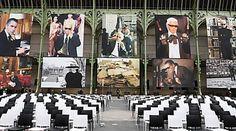 """Karl for ever"" : l'hommage au Kaiser sous la Nef du Grand Palais quatre mois après sa mort Grand Palais, Photo Wall, Frame, Home Decor, Death, Photograph, Decoration Home, Frames, A Frame"