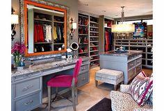 interior design - walk-in closet #TheSartorialBlonde