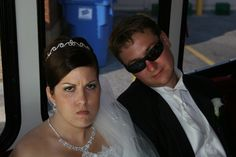 You let your wedding be ruined. | 23 Ways Your Wedding Could Be Ruined