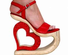 70 Wild Wedges #shoes #footwear trendhunter.com