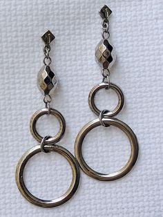 Brincos Argola e Contas Chic - Chic Hoop and Beads Earrings | Beat Bijou | Elo7