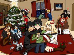 CHRISTMAS!! Percy Jackson!