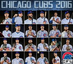 Chicago Cubs class of 2016!
