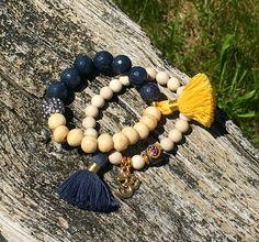 Creamy Bone bracelets..               Please visit my shop ✨.     Etsy.com/shop/KarmicSparkle
