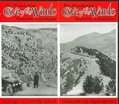 Cave of the Winds Manitou CO folder 1920s