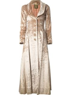 Biba Vintage Fitted Maxi Coat -
