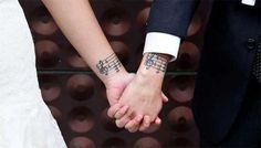 imagenes de parejas con tatuajes bonito