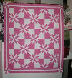 I LOVE 2 color quilts.