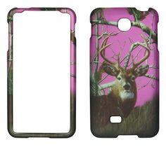 Buy 2D Pink Camo Deer Pine LG Escape P870 AT&T Case Cover Hard Phone Case Snap-on Cover Rubberized Touch Protector Cases NEW for 9.99 USD | Reusell