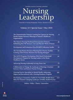 Nursing Leadership Vol. 23