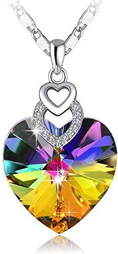 FB Jewels Solid 14K W//Rhodium CZ Cubic Zirconia #1 Daughter Heart Pendant