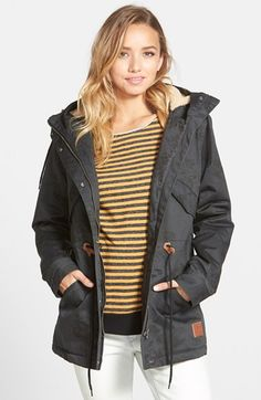 ElementPrintHooded Parka available at #Nordstrom
